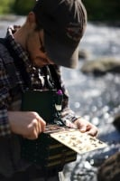John Ruff looks for the next pattern | AuSable River Two Fly Shop